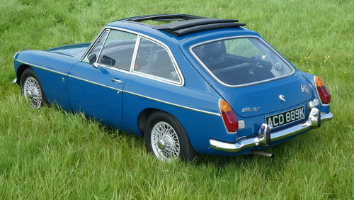 1972 MGB GT Series 2  SOLD (picture 1 of 6)