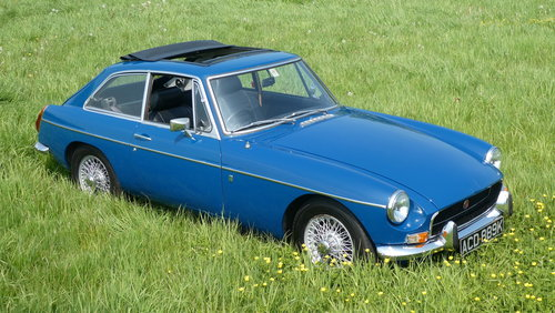 1972 MGB GT Series 2  SOLD (picture 6 of 6)