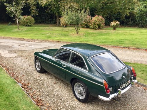 1968 MG C GT – £22,500  For Sale (picture 2 of 6)