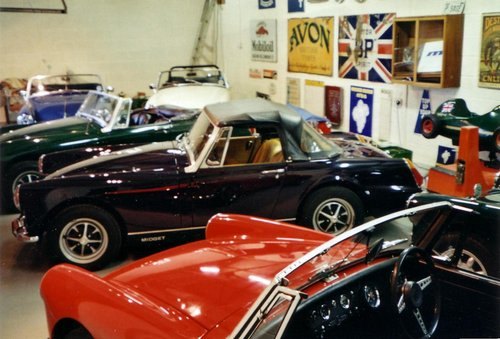 1970 MG Midget for sale by Mike Authers Classics NOW SOLD For Sale (picture 1 of 6)