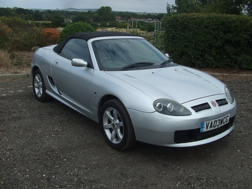 2003 MG TF 16V 135 SOLD (picture 1 of 5)