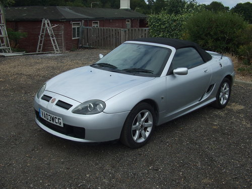 2003 MG TF 16V 135 For Sale (picture 2 of 5)