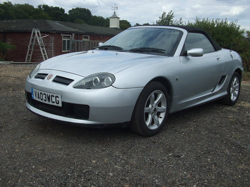 2003 MG TF 16V 135 SOLD (picture 3 of 5)