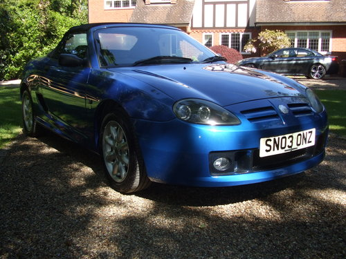 2003 MG TF 115 For Sale (picture 3 of 6)