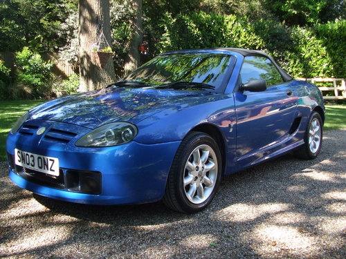 2003 MG TF 115 For Sale (picture 4 of 6)