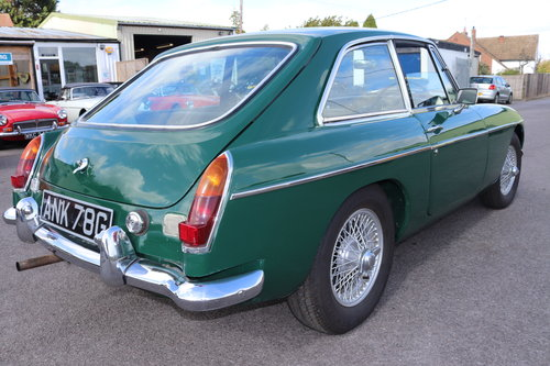 1969 MGB GT Mk2, rare model SOLD (picture 2 of 5)