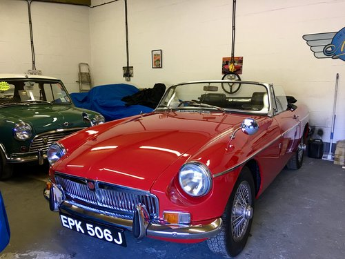 1970 MGB 1.8 Roadster Beautifuly Restored  For Sale (picture 1 of 6)