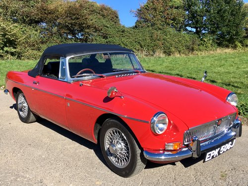 1970 MGB 1.8 Roadster Beautifuly Restored  For Sale (picture 5 of 6)