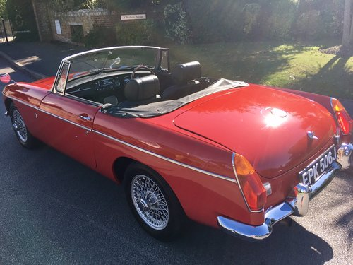 1970 MGB 1.8 Roadster Beautifuly Restored  For Sale (picture 6 of 6)