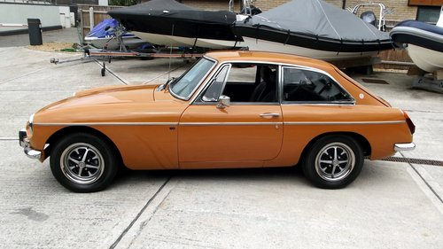 1974 MGB GT SPORTS COUPE (chrome bumper, MOT & Tax exempt) SOLD (picture 3 of 6)