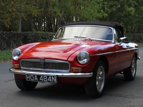 1975 MGB V8 Roadster For Sale (picture 2 of 6)