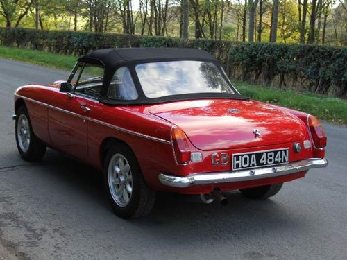 1975 MGB V8 Roadster For Sale (picture 3 of 6)