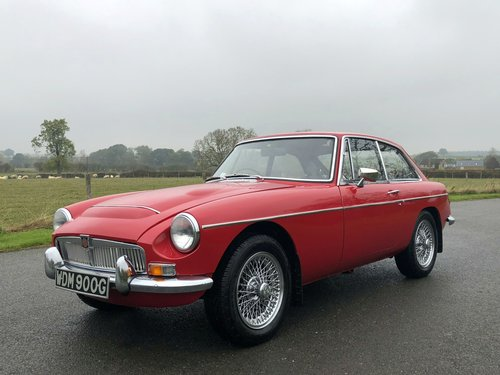 1969 MGC GT Manual / Overdrive SOLD (picture 1 of 6)