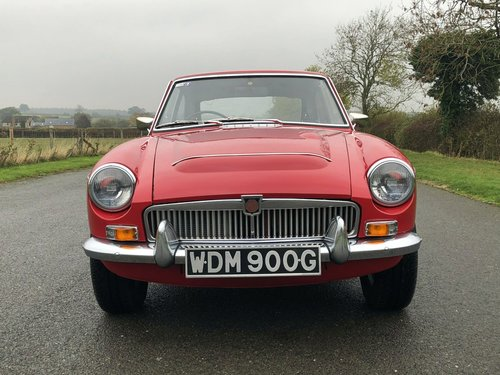 1969 MGC GT Manual / Overdrive SOLD (picture 2 of 6)