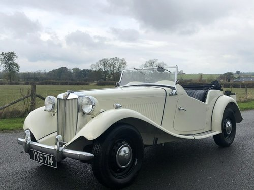 1952 MG TD 1250cc SOLD (picture 1 of 6)