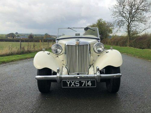 1952 MG TD 1250cc SOLD (picture 2 of 6)