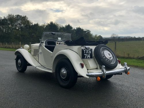 1952 MG TD 1250cc SOLD (picture 4 of 6)