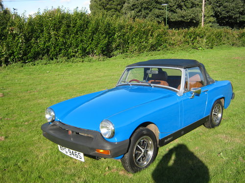 1978 MG MIDGET 1500 IN PAGEANT BLUE. RESTORED AND NEW ENGINE SOLD (picture 2 of 6)