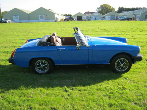 1978 MG MIDGET 1500 IN PAGEANT BLUE. RESTORED AND NEW ENGINE SOLD (picture 4 of 6)