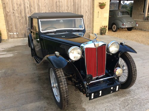 1938 MG TA Tickford For Sale For Sale (picture 1 of 6)