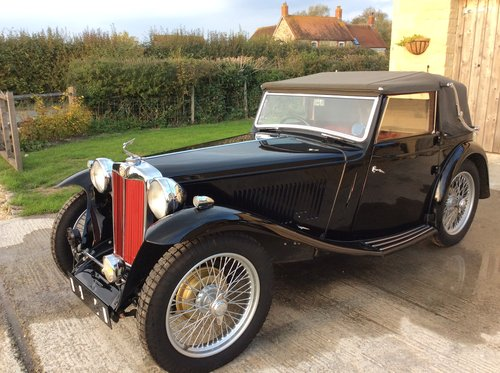 1938 MG TA Tickford For Sale For Sale (picture 2 of 6)