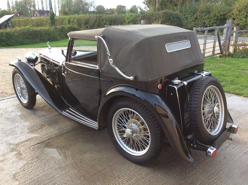 1938 MG TA Tickford For Sale For Sale (picture 4 of 6)