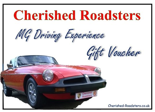 Classic Car Gift Vouchers - Stunning MGs For Sale (picture 1 of 5)