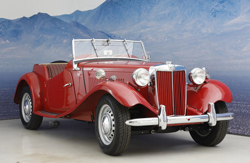 1952 MG TD 1,25 Roadster  SOLD (picture 1 of 6)