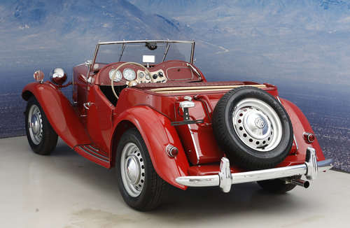 1952 MG TD 1,25 Roadster  SOLD (picture 2 of 6)
