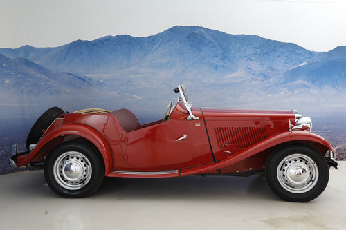1952 MG TD 1,25 Roadster  SOLD (picture 3 of 6)