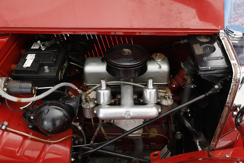 1952 MG TD 1,25 Roadster  For Sale (picture 6 of 6)