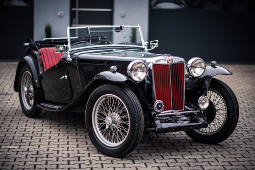 1946 MG TC Completely Restored  For Sale (picture 1 of 6)