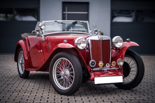 1947 MG TC Supercharged For Sale (picture 1 of 6)