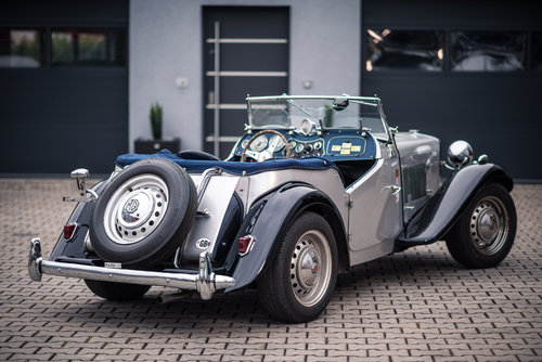 1952 MG TD MK II Supercharged Race Car For Sale (picture 2 of 6)