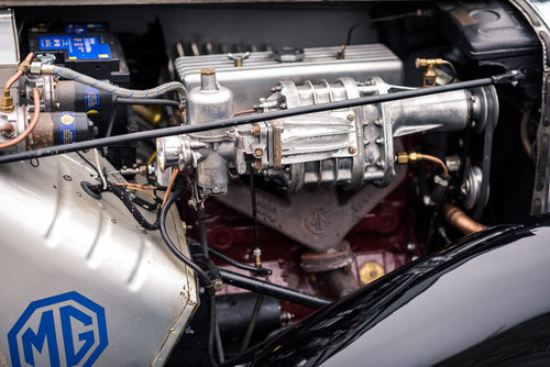 1952 MG TD MK II Supercharged Race Car For Sale (picture 4 of 6)