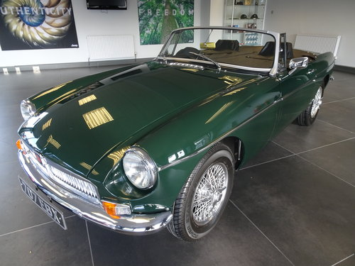 1964 Pristine MGB Roadster O/D. Reg. 707 EBX For Sale (picture 1 of 6)