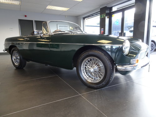 1964 Pristine MGB Roadster O/D. Reg. 707 EBX For Sale (picture 3 of 6)