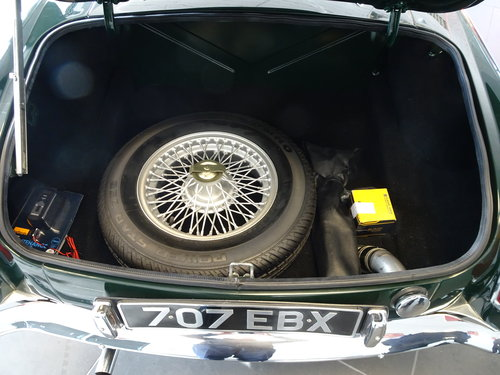 1964 Pristine MGB Roadster O/D. Reg. 707 EBX For Sale (picture 6 of 6)
