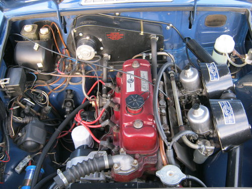 1966 MGB GT. MINERAL BLUE. VERY EARLY GT BUILT IN 1965. SOLD (picture 6 of 6)