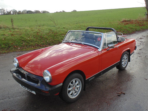 1976 MG Midget 1500 SOLD (picture 1 of 6)