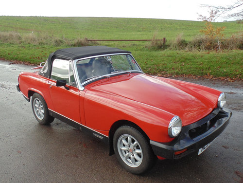 1976 MG Midget 1500 SOLD (picture 2 of 6)