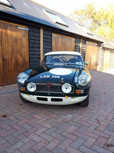 1964 MGB FIA HISTORIC RALLY CAR For Sale (picture 5 of 6)