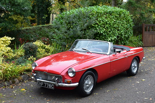 Mgb roadster 1965 Heritage Shell Last Owner 36 Years For Sale (picture 1 of 6)