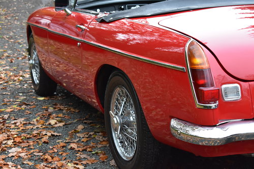 Mgb roadster 1965 Heritage Shell Last Owner 36 Years For Sale (picture 5 of 6)