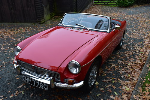Mgb roadster 1965 Heritage Shell Last Owner 36 Years For Sale (picture 6 of 6)