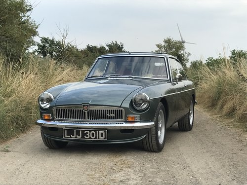 1970 MGB GT Heritage shell 3.5 V8 rebuild For Sale (picture 1 of 6)