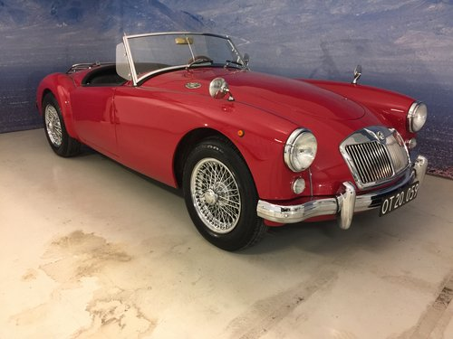 1959 MG A 1.5 Roadster  SOLD (picture 1 of 6)