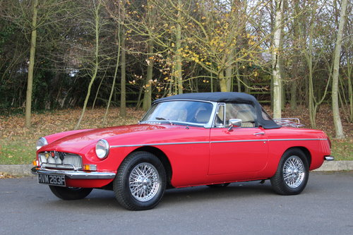 1967 MGB 1 8 ROADSTER-SOLD- MORE REQUIRED SOLD | Car And Classic