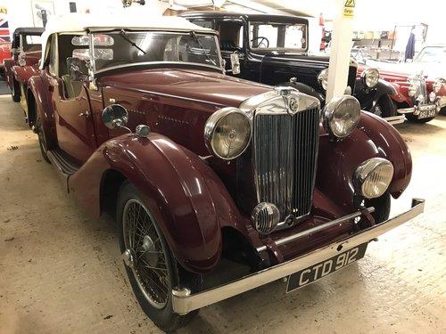 1937 MG VA  1.5 Litre Tourer - Ex-Lancashire Police Car SOLD (picture 1 of 6)