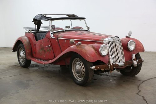 1954 MG TF Right Hand Drive For Sale (picture 1 of 6)